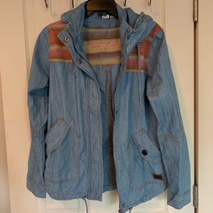 Roxy Chambray Denim Jacket
